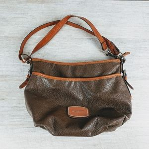 Rosetti Leather Shoulder Bag
